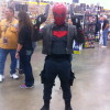 This guy had a fantastic Red Hood Costume