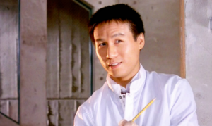 Dr. Henry Wu, as he appeared in the original film.